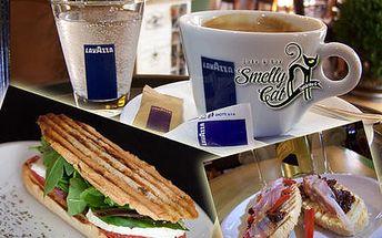 Skvelá ponuka na Talianské menu a espresso kávu v Cafe & Bar Smelly Cat