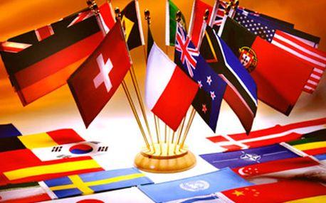 Bezkonkurenčních 1740 Kč za semestrální výuku jazyků - kurz všeobecný nebo pro přípravu ke zkouškám z angličtiny, němčiny, ruštiny, italštiny, francouzštiny, arabštiny a češtiny pro cizince! Super sleva 40 %!
