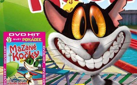 Kolekce 8 DVD seriálu Mazané kočky za skvělých 235 Kč. Udělejte radost svým dětem nebo dětem svých přátel.