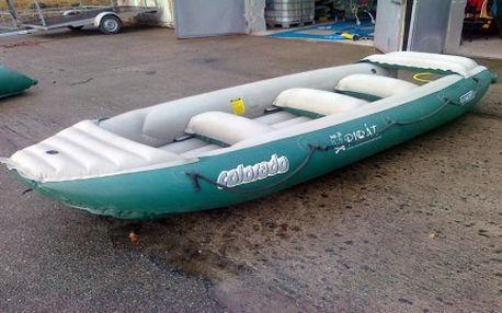 Půjčte si s kamarády raft jen za 320 Kč a užijte si super letní zážitky na vodě! Sjíždějte Vltavu, Otavu a Lužnici v raftu Colorado 450 pro šest osob.