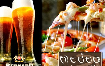 Užijte si dvě pizzy za cenu jedné a nealko občerstvení k tomu za skvělých 138 korun! Medea Caffé přímo v centru Havířova se těší na vaši návštěvu!