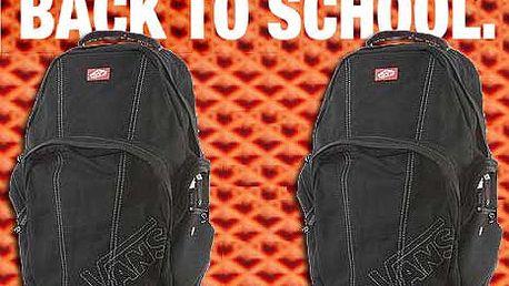 652 Kč místo 1450 Kč za designový batoh značky VANS!!!! Limitovaná nabídka, pouze 20 kusů k dispozici!!!