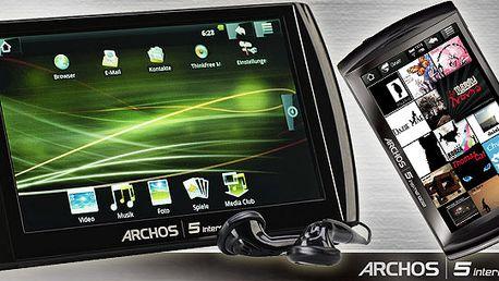 Držte krok s dobou a pořiďte si Tablet Archos 5!! Komprosim mezi mobilním telefonem a počítačem! Nyní za neuvěřitelnou cenu 2607 Kč!! I vy ho můžete mít !