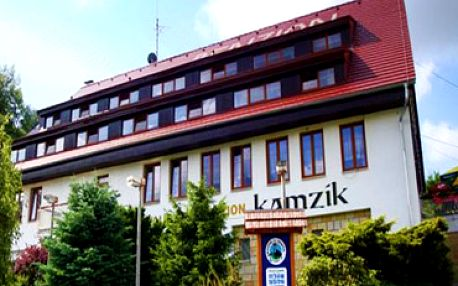 Pohádkový pobyt v penzionu Kamzík pro 2 osoby v Českém Švýcarsku!