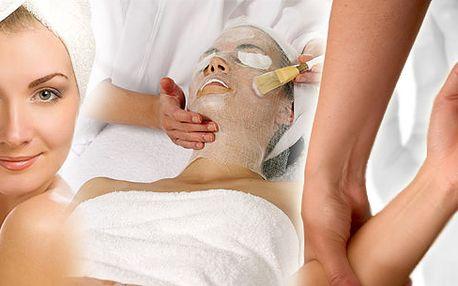 Dokonalá péče o obličej! Speciální kosmetická metoda: Ozonová masáž a ošetření obličeje a parafínový zábal pro dokonalé vstřebání aktivních látek do kůže a relaxační masáž rukou!