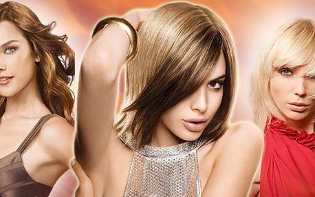 40% sleva na KADEŘNICKÉ SLUŽBY!!! Barva (přeliv), stříhání, foukání a styling za 356 Kč. K tomu zcela ZDRAMA vlasový zábal nebo masáž hlavy dle výběru zákazníka.
