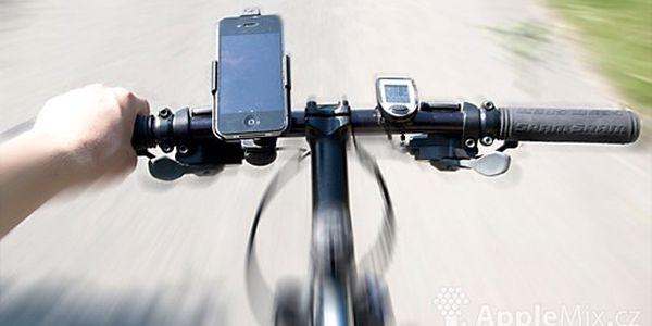 Držák na kolo pro iPhone 4 / 3GS / 3G za NEUVĚŘITELNÝCH 149 Kč! S námi se už neztratíte! Už žádné zbytečné přestávky a hledání v mapách! Nyní si budete moc dát mobil s navigací přímo na řidítka.