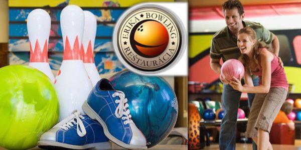 3,99 eur za hodinu bowlingu a dve veľké pivá Gambrinus 10° k tomu! Urobte si s priateľmi skvelý večer v Bowling Erika v Košiciach so zľavou 56 %!