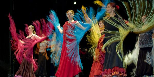 1500 Kč za ranní kurz tance flamenka pro začátečník v hodnotě 2500 Kč