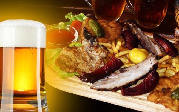 4,90 eur za mäsové hody v Starohájskej pivárni. Lopár plný dokonalých pochúťok ako rezeň, klobáska, kotleta a bôčik pre viac ako jednu osobu so 68% zľavou.