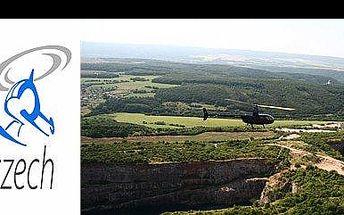 779 Kč za let helikoptérou nad Karlštejnem a Velkou a Malou Amerikou. Nakopni vrtuli a dopřej sobě i rodině neopakovatelný adrenalinový zážitek, nyní s 51% slevou.