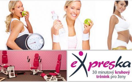 Chybí Vám potřebná motivace ke cvičení? Zapojte se do letního EXPRESPLÁNU s 55% slevou. 3 měsíce cvičení, sestavení cvičebního plánu na tělo, základní výživové rady, pravidelné kontroly a měření Vašich pokroků, hodina zumby a pilates zdarma!!