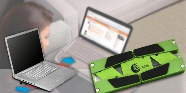Chladící podložka pro notebook jen za 247 Kč + USB bluetooth! Dopřejte svému notebooku zasloužený oddech - neuvařte ho v jeho plechové schránce zaživa. Dobré chlazení mu dokáže prodloužit životnost i o roky!