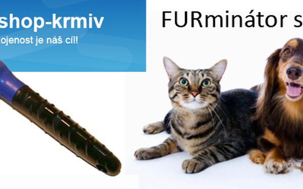 Máte doma pejska či kočičku a jejich všudepřítomné CHLUPY vás dovádí k šílenství? Se šetrným a profesionálním kartáčem na vyčesávání srsti FURminator small pro kočky a malé psi, který navíc redukuje línání, to jde jedna báseň. S báječnou slevou 60% za neuvěřitelných 200 Kč (původnÍ cena 499 Kč)!