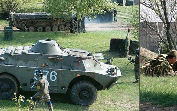 149 Kč za vstup do ARMY PARKU pro 2 dospělé nebo 1 dospělého a 2 děti. Ráj vojenské techniky včetně zážitkových akcí se slevou 50 %.