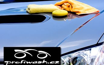 Kompletní mytí exteriéru a interiéru vašeho vozu za výhodnou cenu 2199 Kč místo původních 3450 Kč. Nadstandartní péče zkušených profesionálů se slevou 36 %!