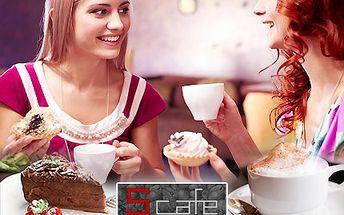 Slaďoučký dortík či pravá kávička vykouzlí úsměv, rozzáří očička. Vyberte si dle libosti z bohaté nabídky S-cafe se slevou 50 %.
