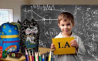 Hola hola škola volá!!! Balíček pro školáky za 239 Kč! Vybavte své děti do školy včas a výhodně! Nabídka obsahuje aktovku, vybavený dvoupatrový penál a peněženku + dárek.