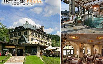 Užijte si 4 dny luxusu na horách s 61% slevou! Masáže, sauna, vířivka – to vše a mnohem víc ve 4hvězdičkovém hotelu Praha přímo v centru Špindlerova Mlýna!