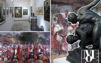 Pastva pro oči, balzám na duši. Navštivte unikátní výstavu moravských sbírek! Obdivujte 194 let unikátních uměleckých kolekcí v historických prostorách Místodržitelského paláce se slevou 50 %.