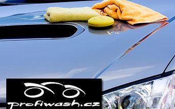 Mít auto jako nové se slevou 46% se vyplatí! Kvalitní ruční mytí včetně palubky a lesku na pneu jen za 299 Kč!