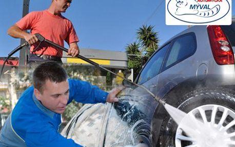 Ruční mytí s nejvyšší ochotou a vaše auto zazáří čistotou! Precizní ruční mytí interiéru či exteriéru automobilu se slevou 60 %.
