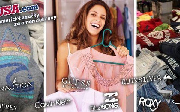 499 Kč za nákupní poukaz do Outlet USA v Revoluční v hodnotě 1000 Kč. Oblečení světových značek za super ceny a se slevou 50 %!