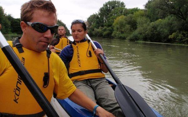 Jednodenní splav po Malém Dunají jen za 240 Kč!