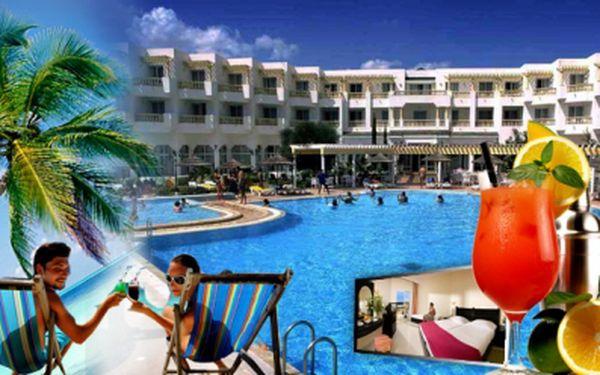 Poleťte si s námi užít tropických teplot a teplého moře do Tuniska, do 4* hotelu s ALL INCLUSIVE, za super cenu 9.990 Kč! Ušetříte 38%, tj. 6.000 Kč na osobu!