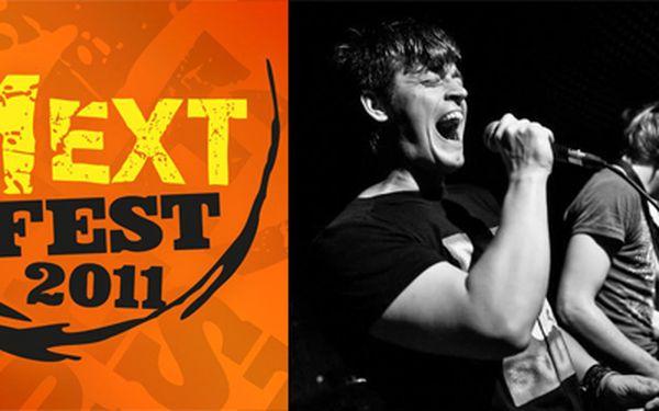 Jen 99,- Kč za vstupenku na NEXT FEST 2011! Eddie Stoilow, The Roads, Bek Ofis, Memphis, O5&Radeček a mnoho dalších. Léto plné hudby a festivalů zdaleka nekončí a tak si příznivci dobré muziky přijdou na své.
