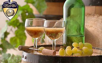 Vinný mošt je lahodný a zrádný, stačí doušek a tvůj pohyb bude věru ladný! Objednejte si první 2l letošního burčáku s 38% slevou.