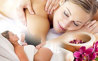 Relax, který ocení nejen budoucí maminka, najdete v masážním studiu Rodinka. Těhotenská nebo Havajská masáž Lomi Lomi se slevou 50 %.