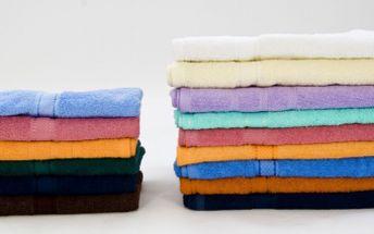 Letní akce na hebounké ručníky a osušky ze 100% bavlny za neopakovatelnou cenu. Nejvyšší savost a kvalitní provedení. Pořiďte si super 4ručníky, jeden jen za 90 Kč nebo 4 osušky, jednu jen za 145 Kč a ušetřete 50 %.