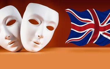 Jen 660 Kč za divadelní sobotní workshop v angličtině v jazykové škole Britannika určený pro studenty s pokročilou znalostí angličtiny. Rozmluvte se, zbavte se jazykové bariéry, dejte plynulost své angličtině! Garantujeme maximálně 6 studentů ve skupině!
