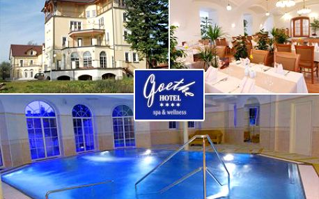 Léčivé prameny, kulaté oplatky a procházky po kolonádě, to jsou Mariánské Lázně! Romantický víkend pro dva v Hotelu Goethe v Mariánských Lázních se slevou 50 %.