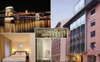 Připomeňte si časy rakouskouherské monarchie, v Budapešti všude na vás dýchne! 3-denní pobyt pro 2 v hotelu Ambra se snídaní s 28% slevou.