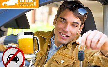 Užijte si party jak se patří, alkohol však za volant nepatří! Drink Assistance - bezpečný odvoz domů Vás i Vašeho vozu se slevou 60 %.