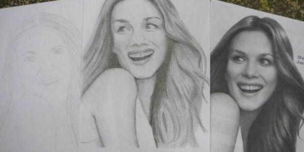 Kurz kreslení pravou mozkovou hemisférou - portrét, aneb objevte své skryté schopnosti. Ukážeme Vám, že kreslit umí opravdu každý, stačí jen vědět, jak na to!