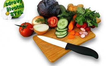 * Varte zdravšie * V každej kuchyni je jedna hlavná priorita, a tou je kvalitný a ostrý nôž. Luxusná sada * keramický nôž + škrabka teraz za neuveriteľnú cenu 16 eur. Kto raz skúsi .... už nechce inak. Luxusný tovar za luxusné cenu. Navyše poštovné ZADARM
