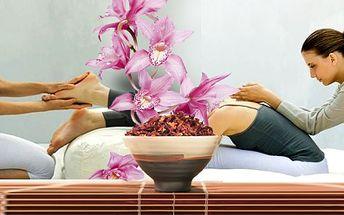 Balíček masáží se slevou 50%! Energetická Reiki masáž zad, masáž plosky nohou, kotníků a lýtek, 30 minut zábal v teple, následná energetická Reiki masáž šíje vleže nebo jemná energetická Reiki masáž obličeje. To vše za skvělých 399 Kč!