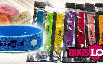 """6x repelentní náramek """"BugsLock"""" a komáři se k Vám nedostanou!! Speciální repeletní náramek, který Vás ochrání před otravným hmyzem. Doprava zdarma!!"""