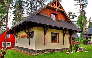 Užite si Tatry na 4, 3 alebo 2 noci v domčekoch Tatry Holiday*** vo Veľkom Slavkove! Luxusné ubytovanie pre 6 osôb + 2 prístelky so zľavou až do 50%! Tip na jesenný či zimný výlet s rodinou alebo priateľmi.