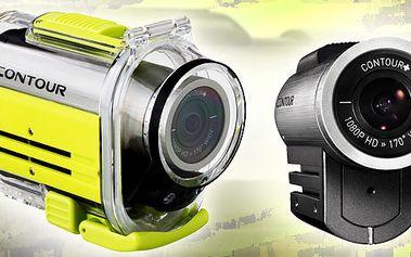 Sportovni kamera Contour za bezkonkurenční cenu! Perfektní kamera na kolo, potápěni, paragliding, do auta, na zbraň nebo helmu! Zaznamenejte si nejen své sportovní výkony!