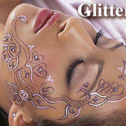 Blýskněte se s novým glitter tetováním jen za 149 Kč! Novinka ve zdobení těla!