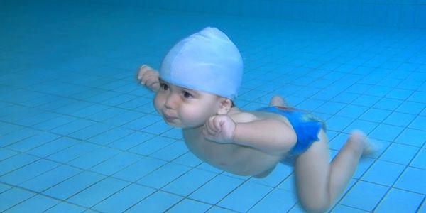 4225 Kč za balíček plavání kojenců na půl roku v honotě 6500 Kč