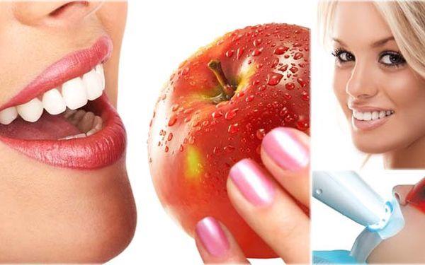 Nejlevnější nabídka bělení zubů od profesionálů! Za pouhých 999 Kč! Se slevou až 78% ! Využijte tuto bezkonkurenční a neopakovatelnou nabídku a mějte dokonale krásný usměv!
