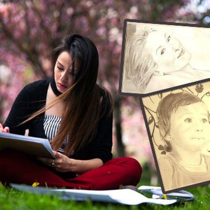 Staňte se na dva dny umělcem! Kurz kreslení pod vedením profesionální lektorky, kde dokáže každý bez výjimky nakreslit úžasný portrét!