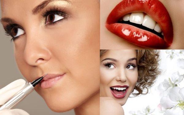 Permanentní make-up kontur rtů - jen 1700Kč! Sleva 50% do studia na Kladně na aplikaci permanentního make-upu pro zvýraznění, vyplnění, zvětšení či zúžení a srovnání asymetrie rtů. Svůdné rty přirozeného vzhledu díky radám a péči zkušených odborníků ze studia Black line Tattoo
