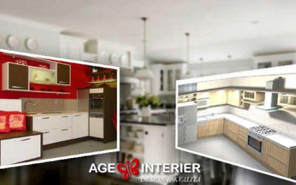Návrh designu kuchyně včetně výtisku 3D grafického návrhu za úžasných 499 Kč! Využijte této 50% slevy a nechte si navrhnout novou kuchyň od profesionálů!