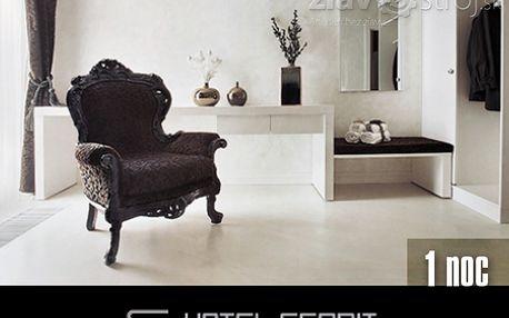 Ubytování pro dvě osoby ve stylovém design Hotelu ESPRIT*** v blízkosti historického centra Bratislavy nyní jen za 1370CZK!